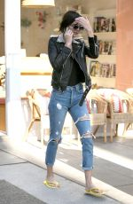 KENDALL JENNER Leaves a Nail Salon in Beverly Hills 11/01/2016