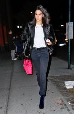 KENDALL JENNER Night Out in New York 11/06/2016