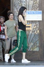 KENDALL JENNER Out and About in Los Angeles 11/08/2016