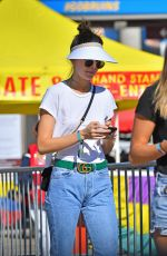KENDALL JENNER Shopping at Flea Market in Los Angeles 11/13/2016