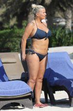 KERRY KATONA in Bikini at a Beach in Abu Dhabi 11/17/2016