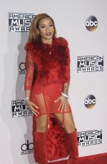 KEYSHIA COLE at 2016 American Music Awards at The Microsoft Theater in Los Angeles 11/20/2016