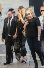KHLOE KARDASHIAN Arrives at Jimmy Kimmel Live! in Hollywood 11/03/2016