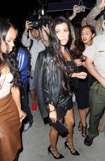 KOURTNEY KARDASHIAN at Kendall Jenner