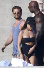 KOURTNEY KARDASHIAN in Bikini at a Pool in Los Cabos 11/14/2016