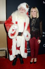 KRISTEN BELL at The Grove Christmas with Seth MacFarlane Presented by Citi in Los Angeles 11/13/2016