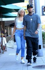 KYLIE JENNER and Tyga Out in Beverly Hills 11/08/2016