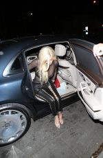 KYLIE JENNER Arrives at Delilah Club in West Hollywood 11/02/2016