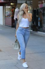 KYLIE JENNER in Jeans Out in Beverly Hills 11/08/2016