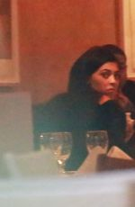 KYLIE JENNER Out for Dinner in Malibu 11/25/2016