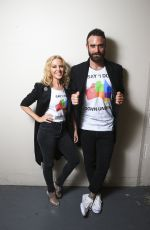 KYLIE MINOGUE on the Backstage of 2016 Aria Awards in Sydney 11/23/2016
