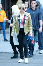 LADY GAGA Arrives to Vote in New York 08/11/2016