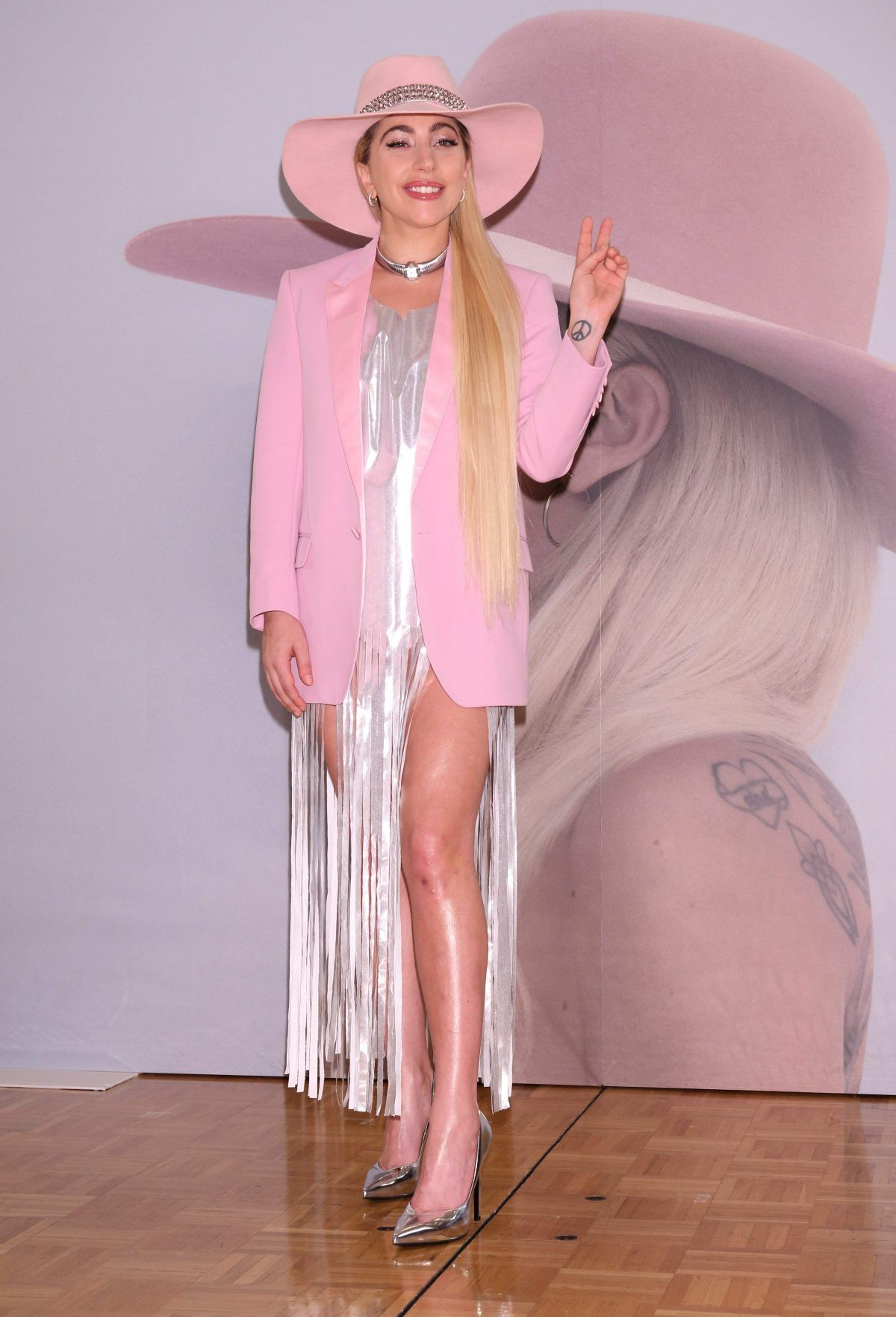 LADY GAGA At Joanne Album Press Conference In Tokyo 11
