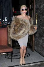 LADY GAGA at No Name Club in Los Angeles 11/15/2016