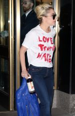 LADY GAGA Out Sporting a
