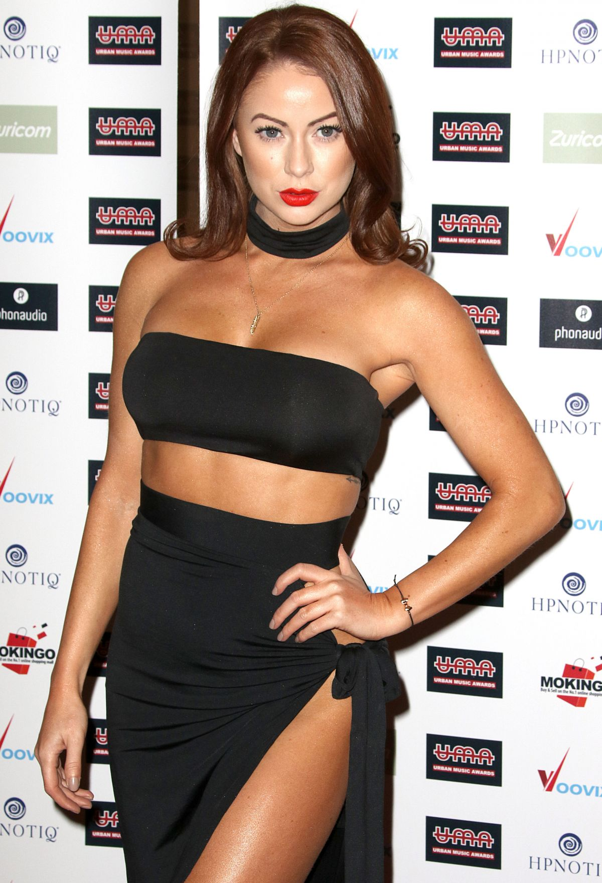 LAURA CARTER at Urban Music Awards 2016 in London 11/26/2016