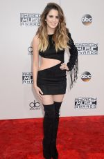 LAURA MARANO at 2016 American Music Awards at The Microsoft Theater in Los Angeles 11/20/2016