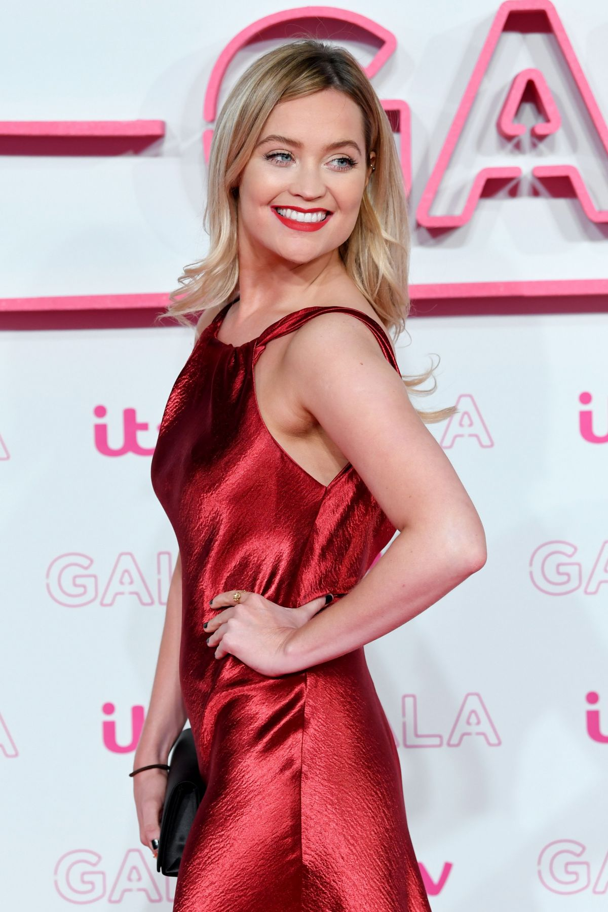 LAURA WHITMORE at ITV Gala in London 11/24/2016
