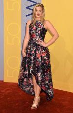 LAUREN ALAINA at 50th Annual CMA Awards in Nashville 11/02/2016