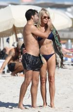 LAUREN FOSTER in Bikini on the Beach in Miami 11/20/2016