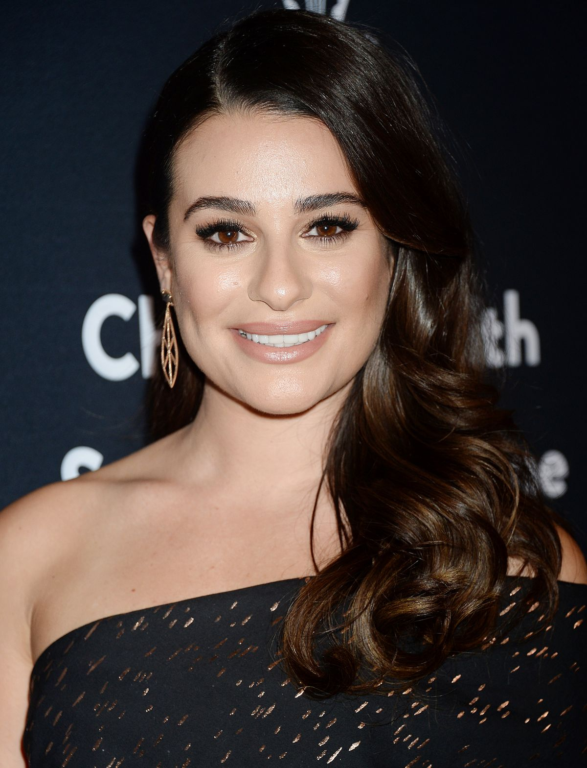 LEA MICHELE at The Grove Christmas with Seth MacFarlane Presented by Citi in Los Angeles 11/13/2016