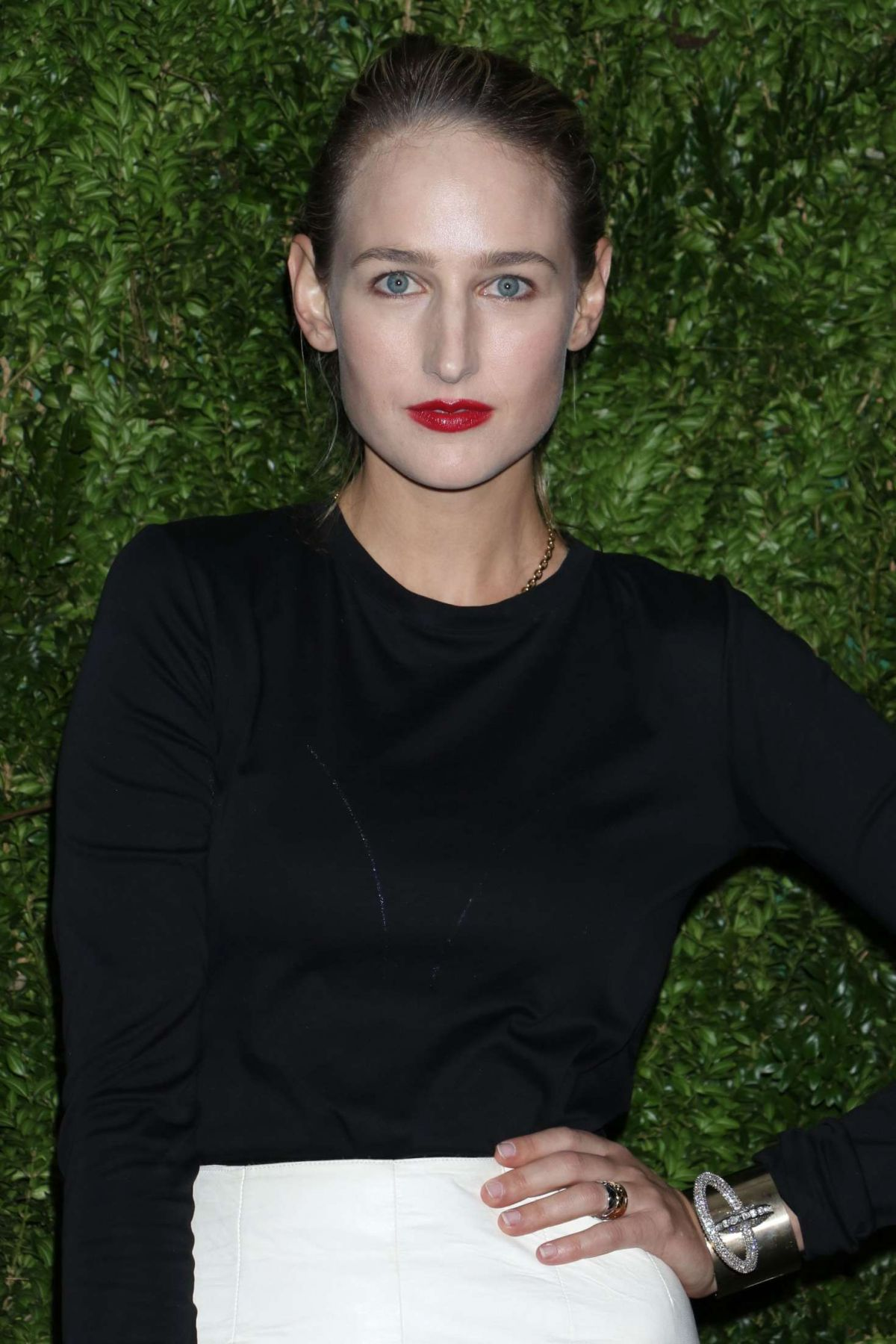 LEELEE SOBIESKI at 2016 Museum of Modern Art Film Benefit 'A Tribute to Tom Hanks' in New York 11/15/2016