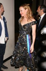 LESLIE MANN at Catch LA in West Hollywood 11/11/2016