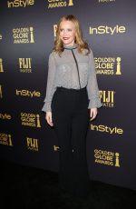 LESLIE MANN at HFPA & Instyle's Celebration of Golden Globe Awards Season in Los Angeles 11/10/2016