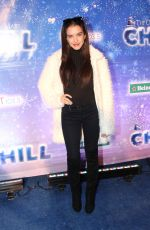 LILIMAR HERNANDEZ at Queen Mary's Chill Tree Lighting Ceremony in Long Beach 11/23/2016
