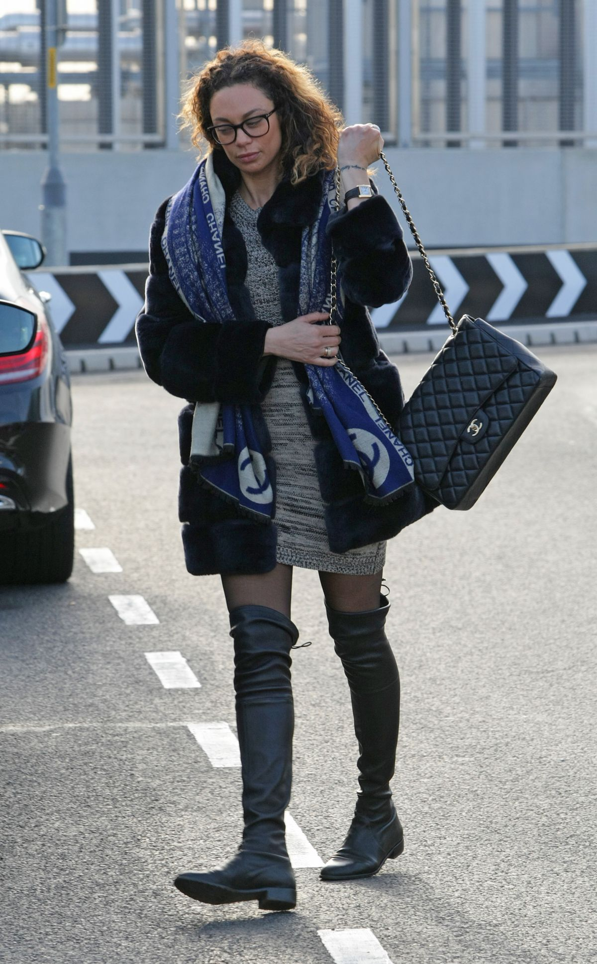 LILLY BECKER at Heathrow Airport in London 11/26/2016