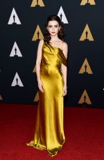 LILY COLLINS at AMPAS' 8th Annual Governors Awards in Hollywood 11/12/2016
