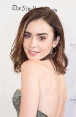 LILY COLLINS at Rules Don