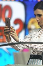 LILY COLLINS at Today Show in New York 11/16/2016