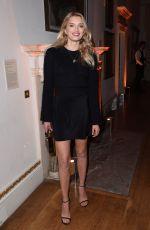 LILY DONALDSON at Stuart Weitzman VIP Dinner in London 11/14/2016