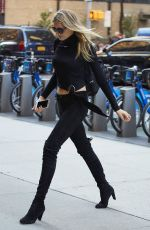 LILY DONALDSON at Victoria's Secret Fashion Show Model Fittings in New York 11/04/2016