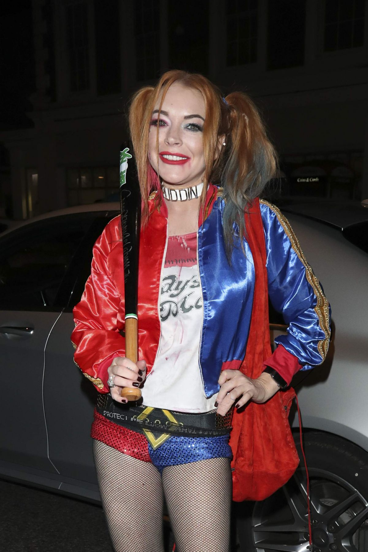 LINDSAY LOHAN Leaves Albert