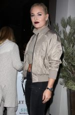 LINDSEY VONN at Catch LA in West Hollywood 11/05/2016
