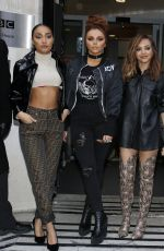 LITTLE MIX Leaves BBC Radio 2 in London 11/19/2016