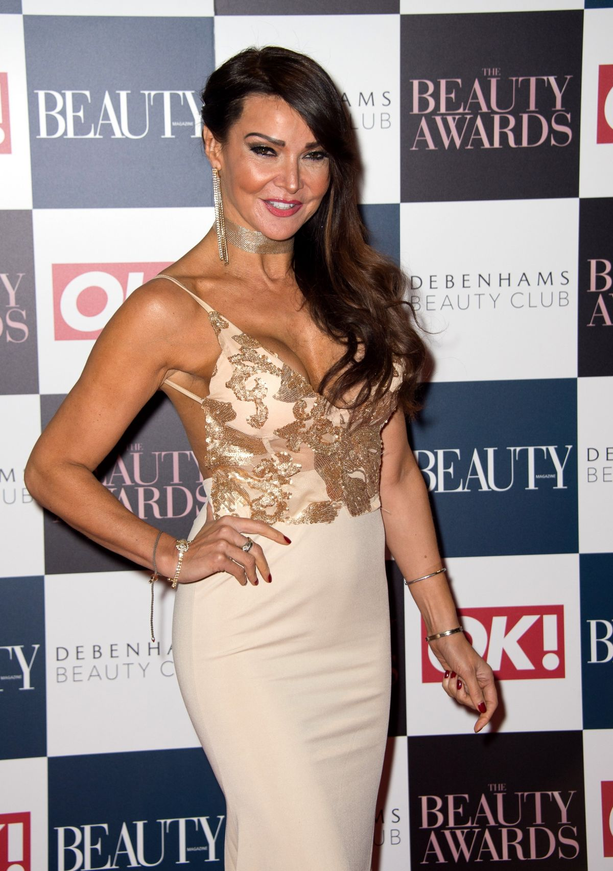 LIZZIE CUNDY at OK! Beauty Awards in London 11/24/2016