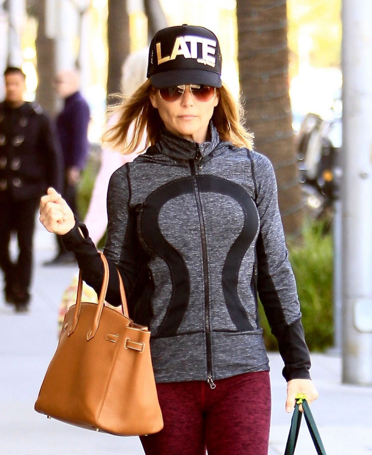 LORI LOUGHIN Shopping Out in Beverly Hills 11/23/2016