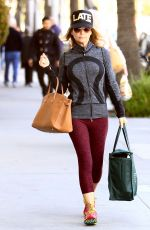 LORI LOUGHLIN Out Shopping in Beverly Hills 11/23/2016