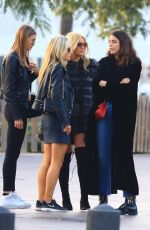 LOTTIE MOSS and Friends Out in Barcelona 11/12/2016