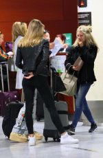 LOTTIE MOSS at Airport in Barcelona 11/13/2016