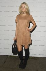LOTTIE MOSS at Dayrooms Store Opening in London 11/23/2016