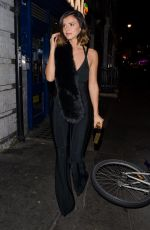 LUCY MECKLENBURGH Night Out in London 11/03/2016