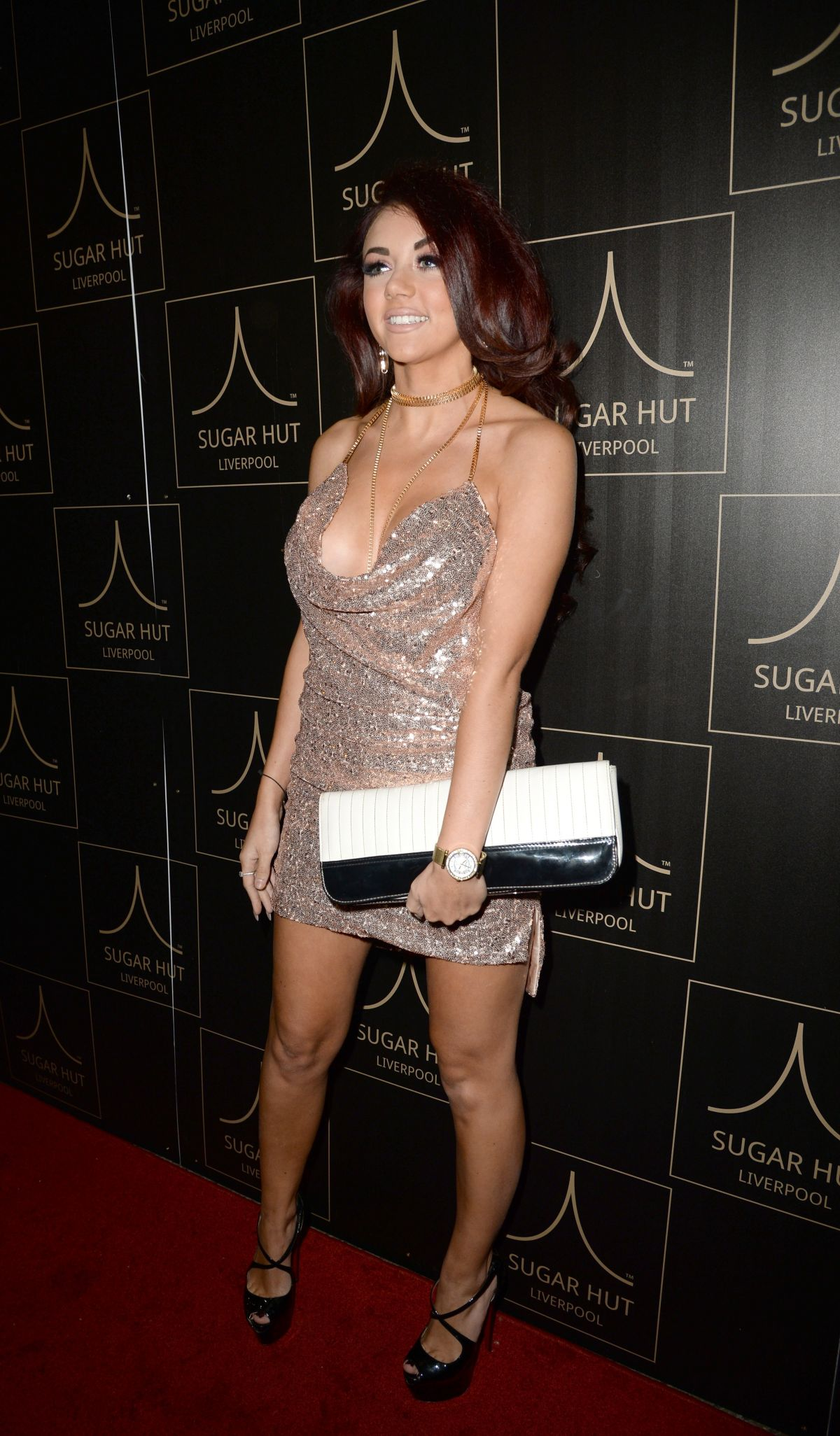 LYDIA LUCY at Sugar Hut Liverpool Launch Night 11/23/2016