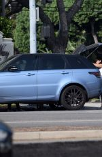 MADISON BEER Escape a Car Crash in Beverly Hills 11/16/2016