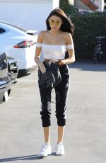 madison beer - out for lunch at mauro