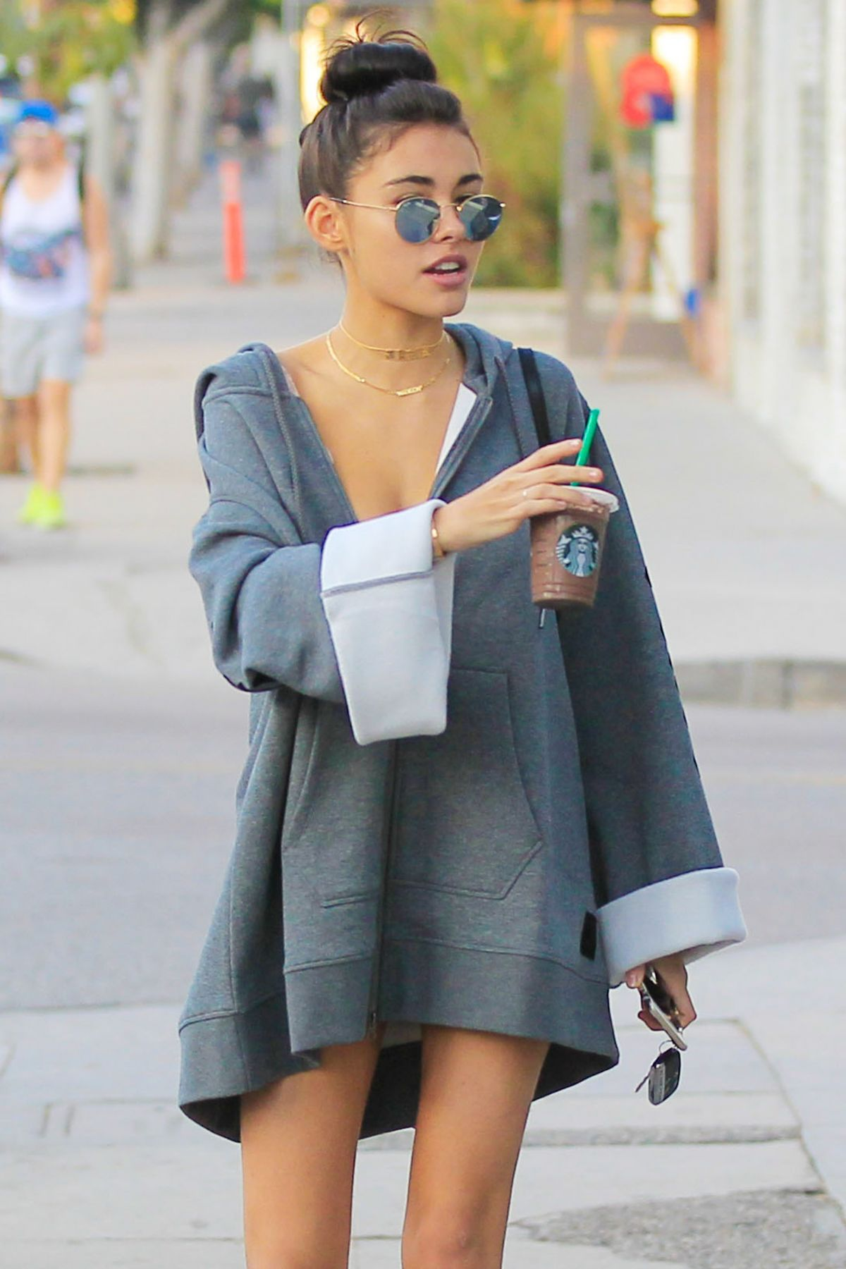 MADISON BEER Out Shopping in Beverly Hills 11/05/2016