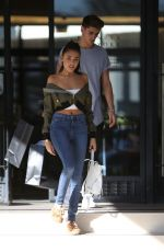 MADISON BEER Shopping at Barneys New York in Beverly Hills 11/02/2016